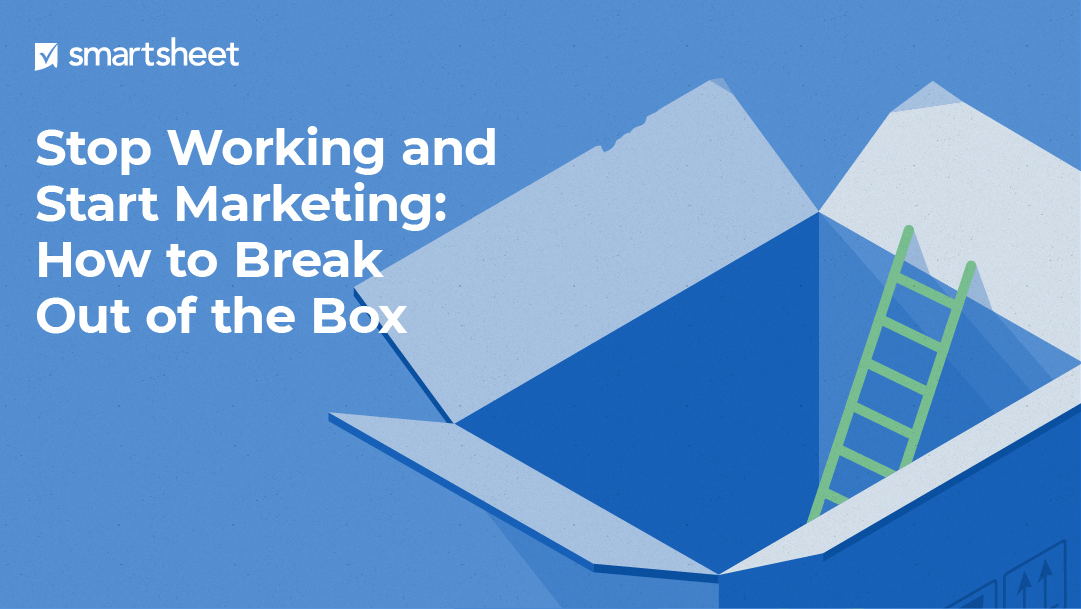 E-book cover and title Stop Working and Start Marketing: How to Break out of the Box