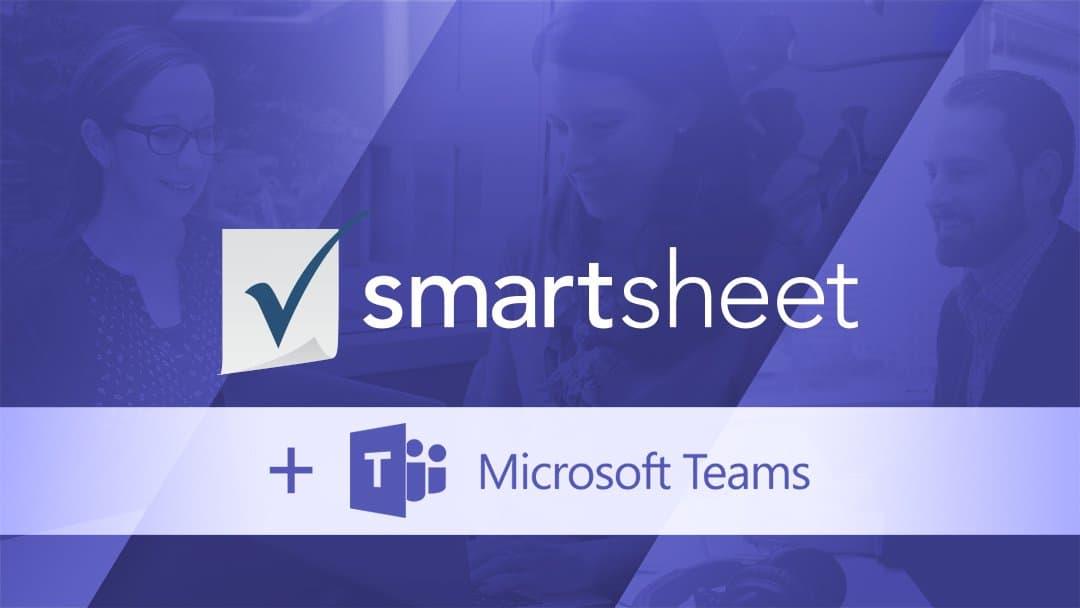 Smartsheet and Microsoft Teams